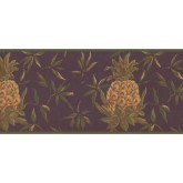 New  Arrivals Wall Borders: Pineapple Fruits Wallpaper Border LH2052B