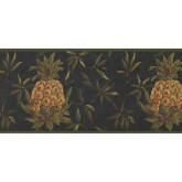 New  Arrivals Wall Borders: Pineapple Fruits Wallpaper Border LH2054B