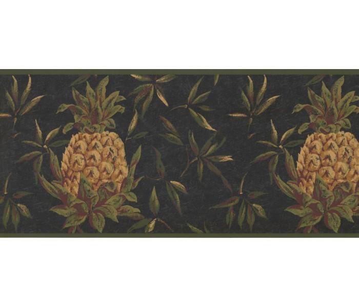 New  Arrivals Wall Borders: Pineapple Fruits Wallpaper Border LH2054B
