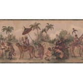 New  Arrivals Wall Borders: Jungle Animals Wallpaper Border LH2115B
