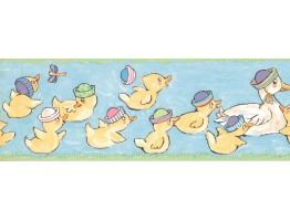 Duck Wallpaper Border LK1435B