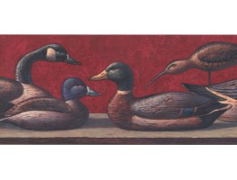 Prepasted Wallpaper Borders - Duck Wall Paper Border LM8998B