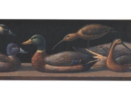 Prepasted Wallpaper Borders - Duck Wall Paper Border LM9002B