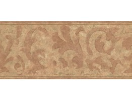 Prepasted Wallpaper Borders - Vintage Wall Paper Border LM9030B