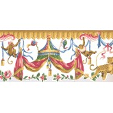 New  Arrivals Wall Borders: Jungle Animals Wallpaper Border LT9414B