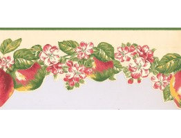 Fruits and Flower Wallpaper Border LT9460B
