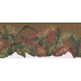 New  Arrivals Wall Borders: Pineapple Fruits Wallpaper Border LT9471B