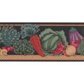 New  Arrivals Wall Borders: Vegetables Wallpaper Border MD143