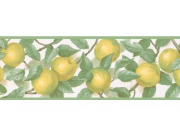Prepasted Wallpaper Borders - Fruits Wall Paper Border MK77657
