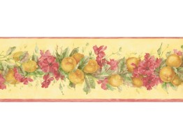 Fruits and Flower Wallpaper Border MK77671