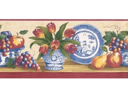 Kitchen Wallpaper Border MM74657B