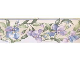 Floral Wallpaper Border MP73662N