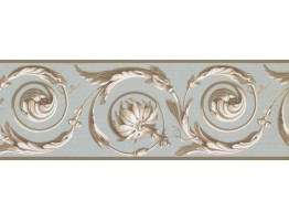 Prepasted Wallpaper Borders - Contemporary Wall Paper Border MV3148B