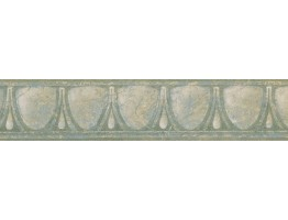 4.1 in x 15 ft Prepasted Wallpaper Borders - Vintage Wall Paper Border NB76938