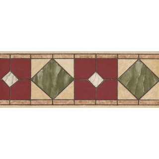 7 in x 15 ft Prepasted Wallpaper Borders - Contemporary Wall Paper Border NB76946A