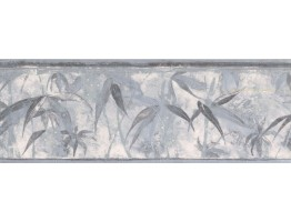 Prepasted Wallpaper Borders - Leaves Wall Paper Border NB76952