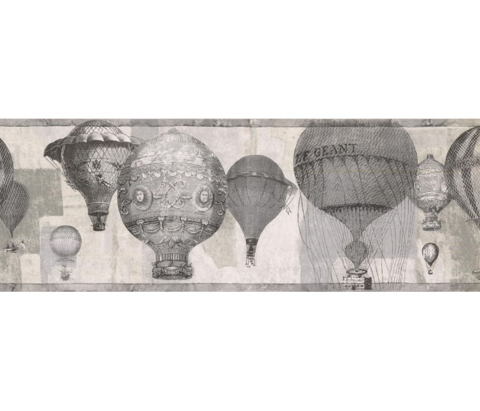 New  Arrivals Wall Borders: Balloon Wallpaper Border NB76953