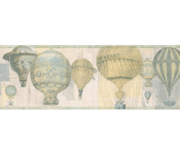 New  Arrivals Wall Borders: Balloon Wallpaper Border NB76954