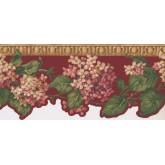 New  Arrivals Wall Borders: Floral Wallpaper Border NG8005B