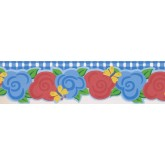 Prepasted Wallpaper Borders - Kids Wall Paper Border NGB76801DC