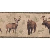 New  Arrivals Wall Borders: Jungle Animals Wallpaper Border NM6636B