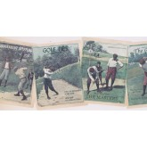 New  Arrivals Wall Borders: Golf Wallpaper Border NM6766B