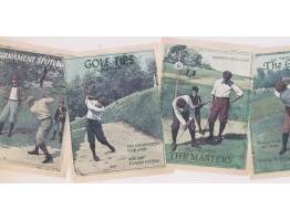 9 3/4 in x 15 ft Prepasted Wallpaper Borders - Golf Wall Paper Border NM6766B