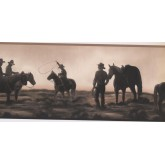 New  Arrivals Wall Borders: Horses Wallpaper Border NM6837B