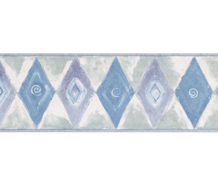 New  Arrivals Wall Borders: Diamond Wallpaper Border NS71809W