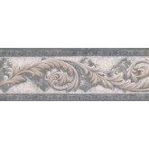 New  Arrivals Wall Borders: Vintage Wallpaper Border NS76924