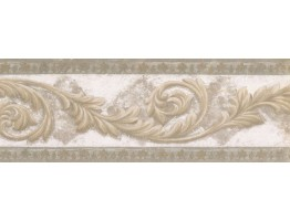 Vintage Wallpaper Border NS76926