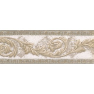 7 in x 15 ft Prepasted Wallpaper Borders - Vintage Wall Paper Border NS76926