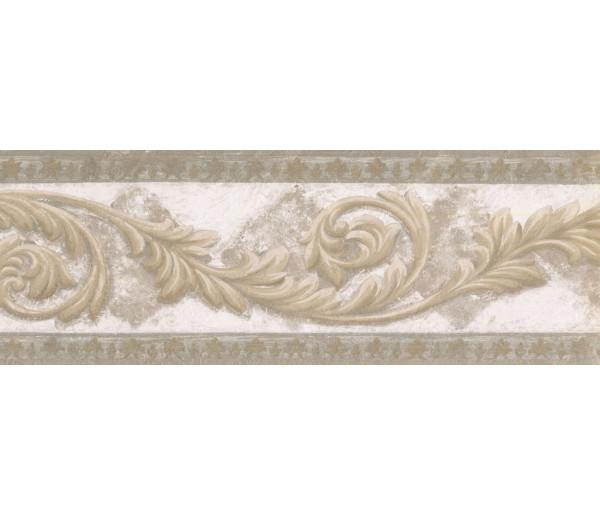 New  Arrivals Wall Borders: Vintage Wallpaper Border NS76926