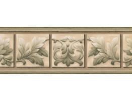 Prepasted Wallpaper Borders - Leaves Wall Paper Border NS76927