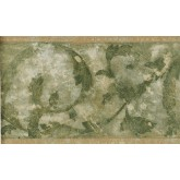 New  Arrivals Wall Borders: Leaves Wallpaper Border NS76930