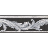 Prepasted Wallpaper Borders - Contemporary Wall Paper Border NS78348