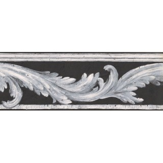 7 in x 15 ft Prepasted Wallpaper Borders - Contemporary Wall Paper Border NS78348