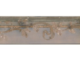 Prepasted Wallpaper Borders - Leaves Wall Paper Border NT73802