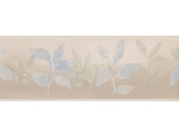 7 in x 15 ft Prepasted Wallpaper Borders - Leaves Wall Paper Border NT75991