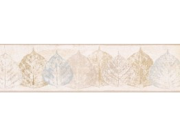 Prepasted Wallpaper Borders - Leaves Wall Paper Border NTX79285