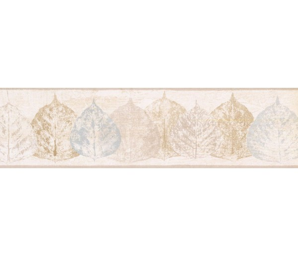 New  Arrivals Wall Borders: Leaves Wallpaper Border NTX79285