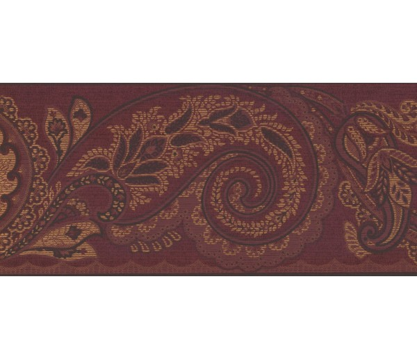 New  Arrivals Wall Borders: Leaves Wallpaper Border OT4130B