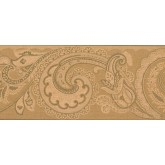 New  Arrivals Wall Borders: Leaves Wallpaper Border OT4132B
