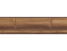 Prepasted Wallpaper Borders - Faux Wood Wall Paper Border PC169B