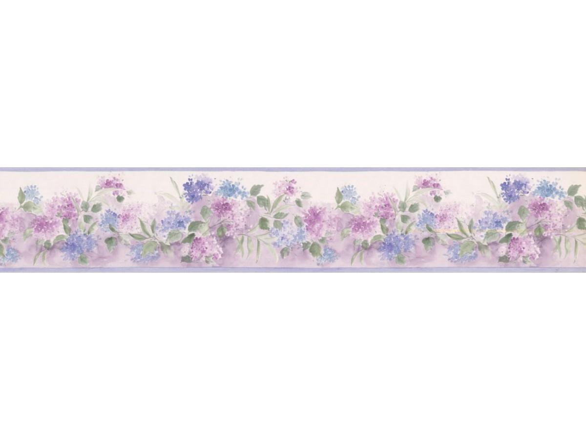 Floral Wallpaper Border Pp76558