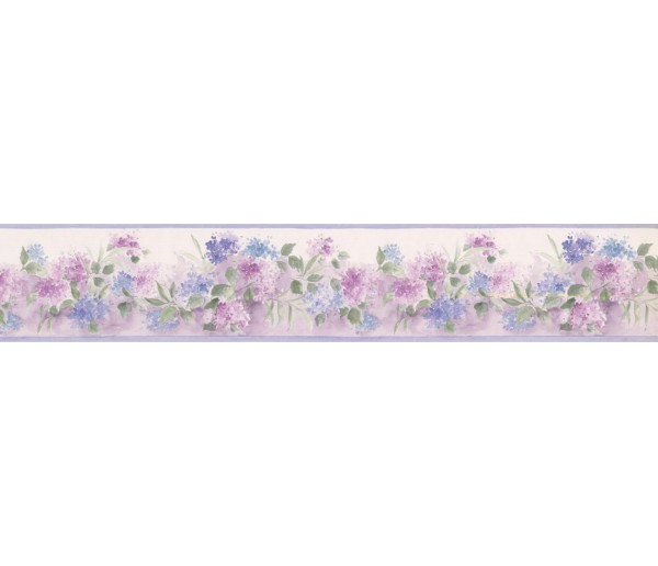 New  Arrivals Wall Borders: Floral Wallpaper Border PP76558