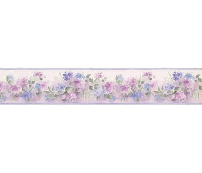 New  Arrivals Wall Borders: Floral Wallpaper Border PP76558