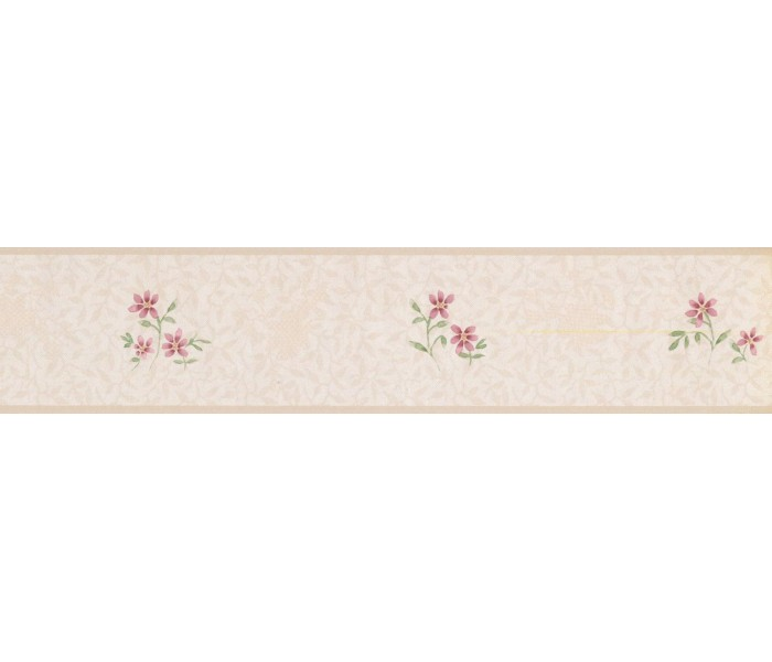 New  Arrivals Wall Borders: Floral Wallpaper Border PP79063