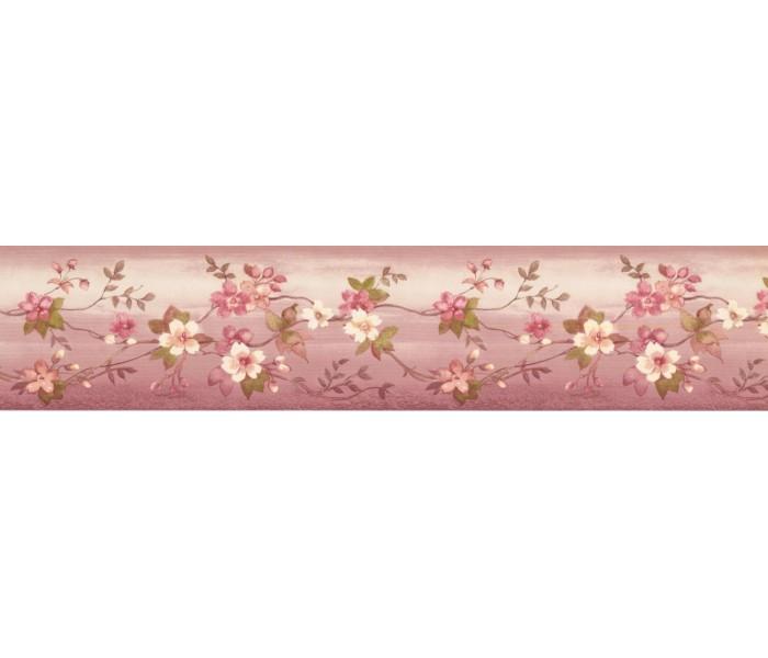 New  Arrivals Wall Borders: Floral Wallpaper Border PP79071