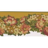 New  Arrivals Wall Borders: Floral Wallpaper Border PZ1216B